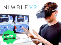 Nimble Sense: Bring Your Hands into Virtual Reality & Beyond