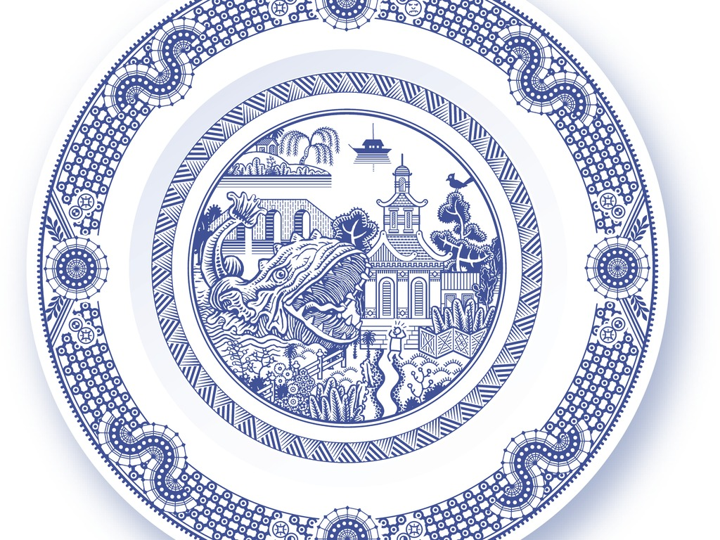 Calamityware dinner plate 3's video poster