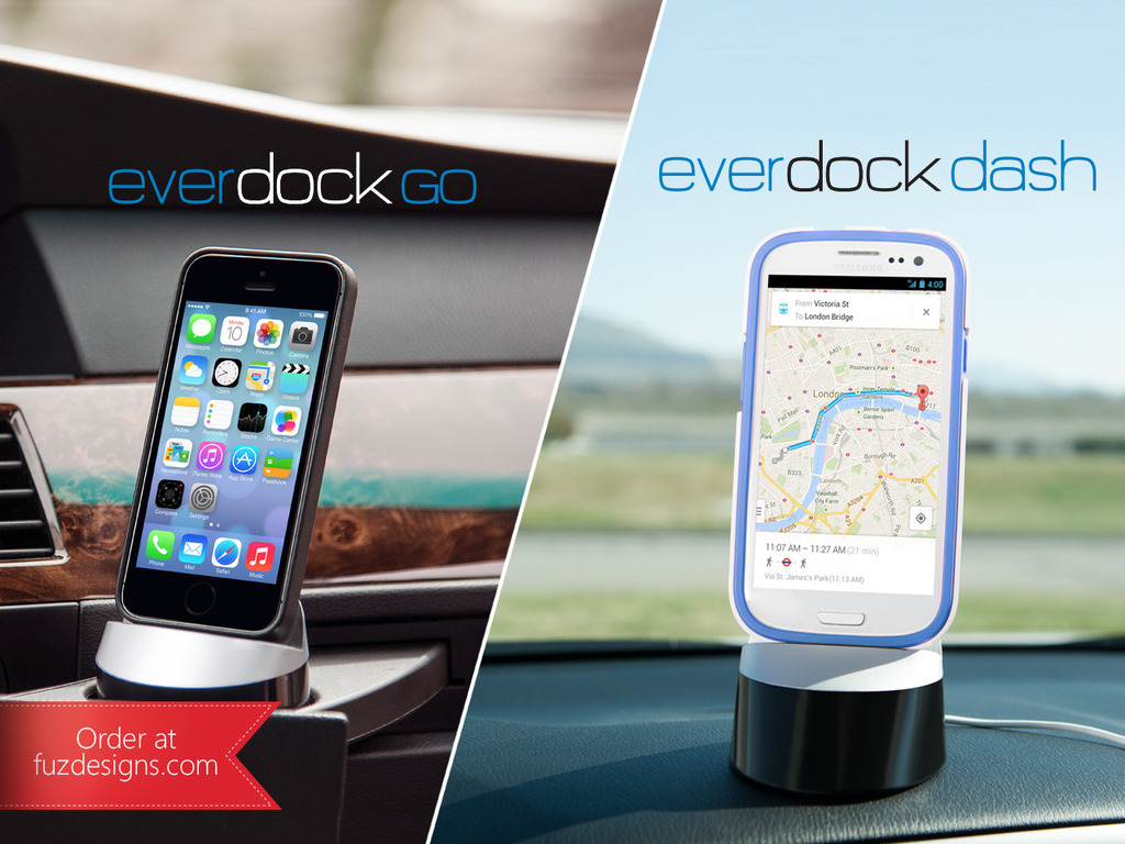 EverDock Go: Universal Car Dock for iPhone, Android's video poster