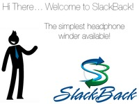 SlackBack Universal Headphone Winder