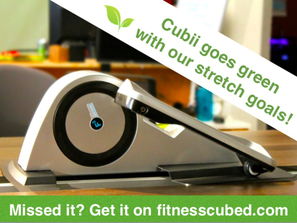 Cubii: World's First Under-Desk Elliptical Trainer's video poster