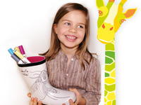 ColourMe Wellies: For little artists on a rainy day!
