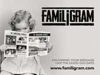 Familigram - Delivering your message like the good old days!
