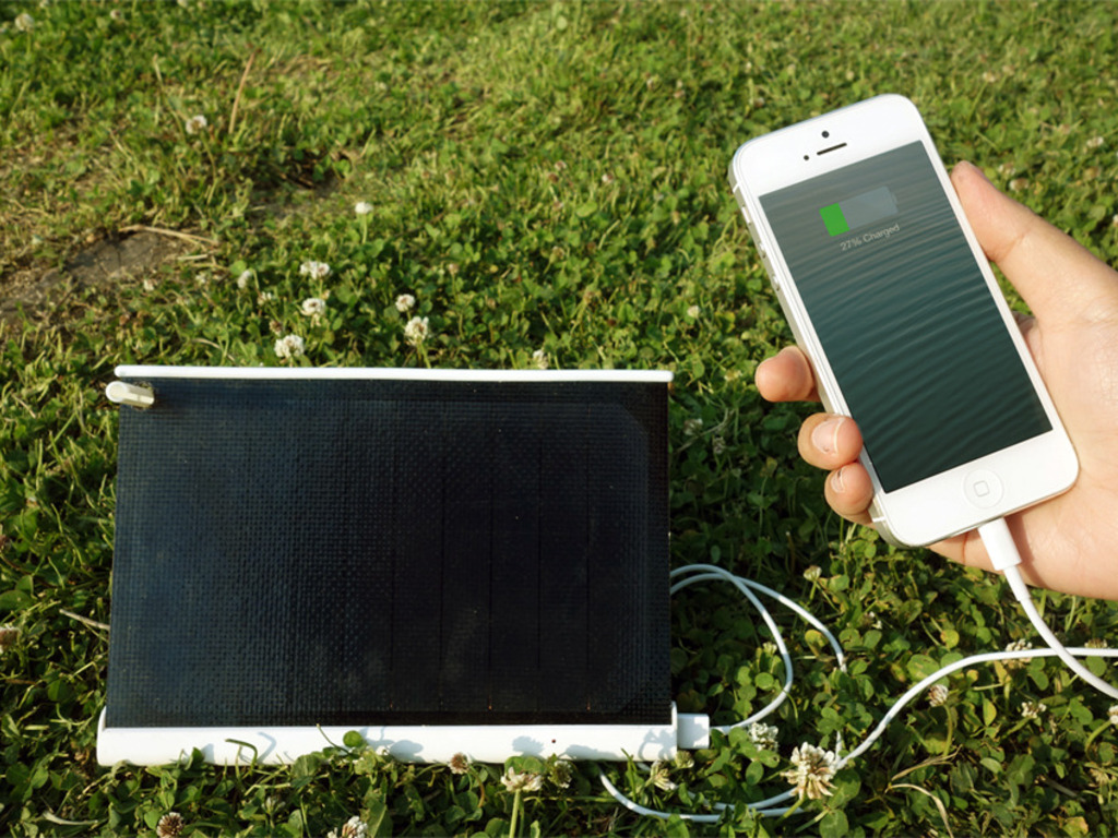 SOLARADE, World's smallest Solar Charger.'s video poster