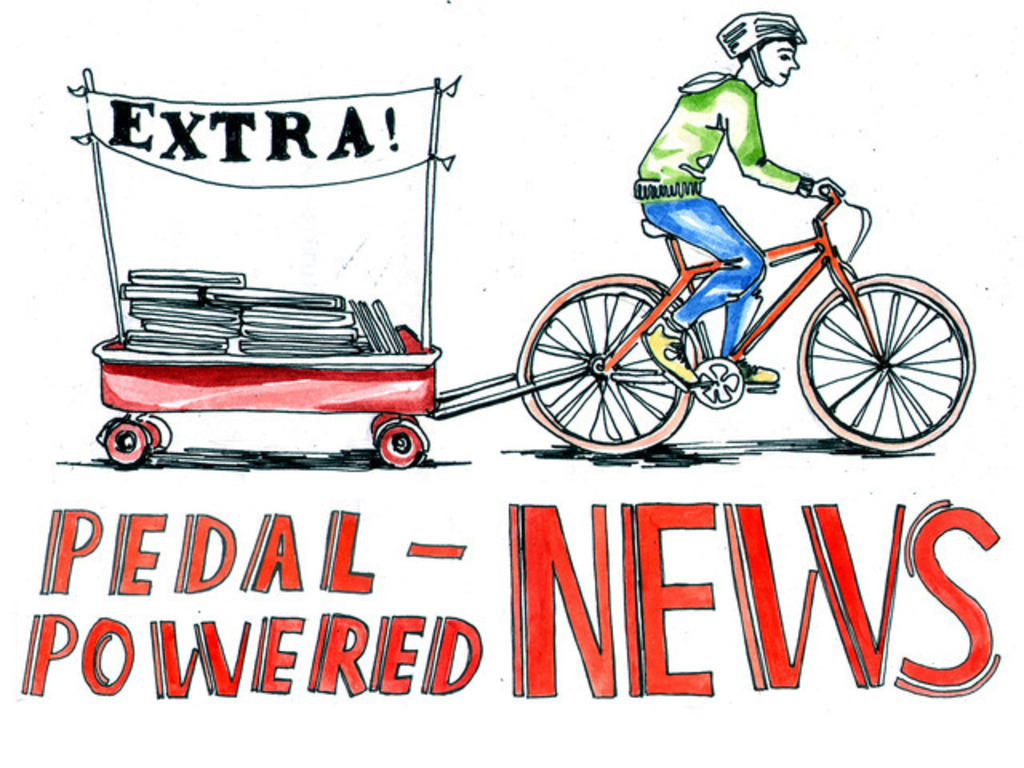 Pedal-Powered News's video poster