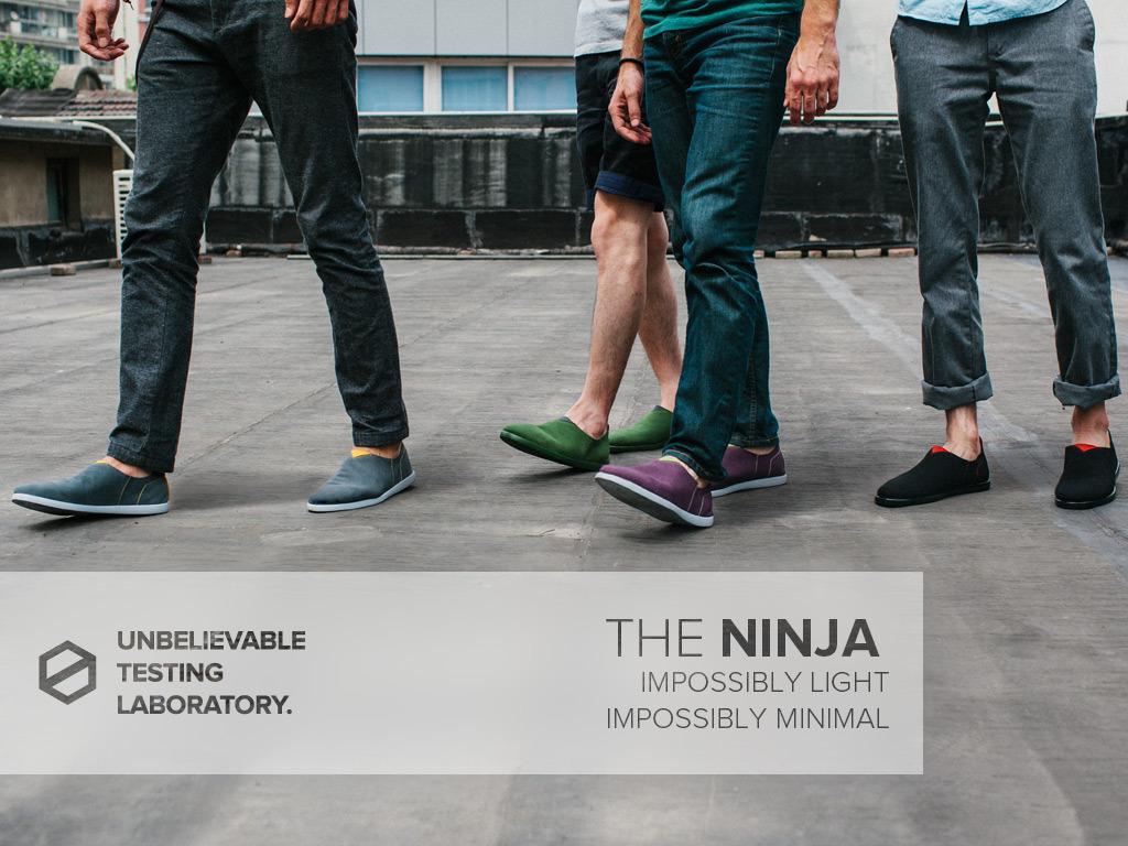 THE NINJA - Impossibly Light MICROFIBER® Footwear's video poster