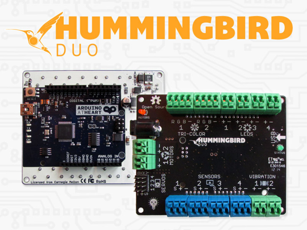 Hummingbird Duo: A Robotics Kit for Ages 10 to 110's video poster