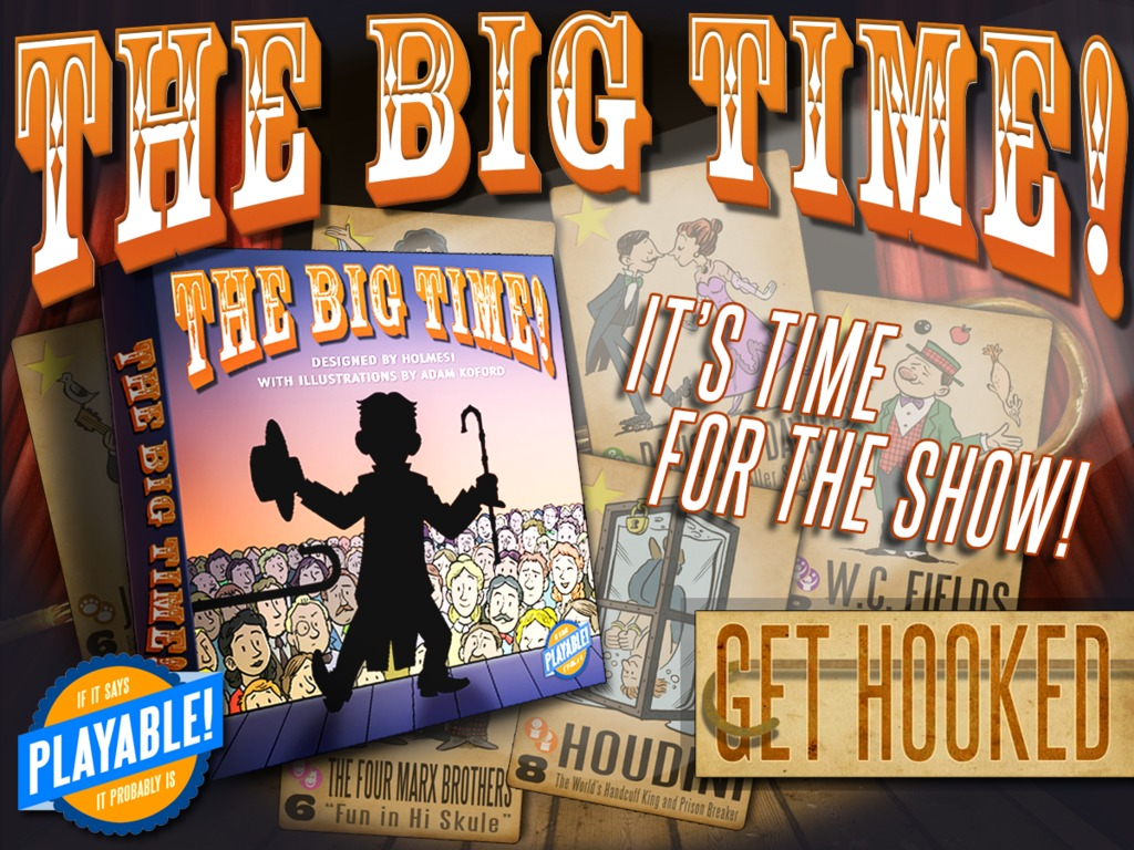 The Big Time!'s video poster
