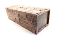 The BeamBox- Reclaimed Wood & Modern Tech Joined Seamlessly