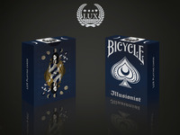 Illusionist Deck: Bicycle Playing Cards, Magician inspired