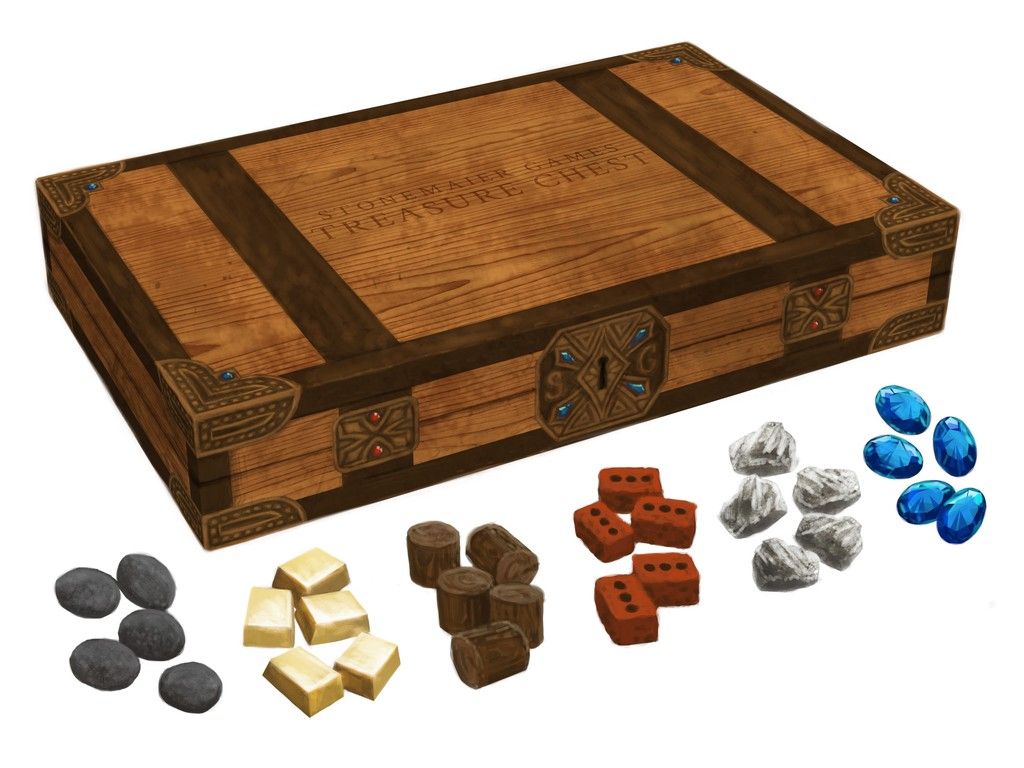 Treasure Chest: Realistic Resource Tokens for Board Games's video poster