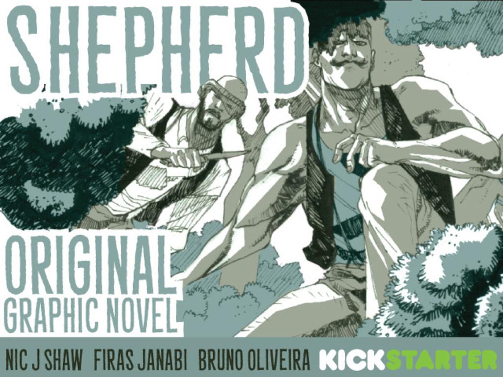 Shepherd: Graphic Novel's video poster