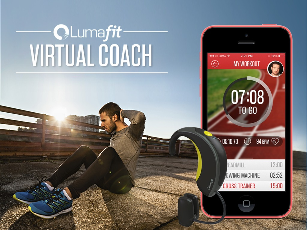 Lumafit - Interactive Fitness Coach With Heart Age Tracking.'s video poster