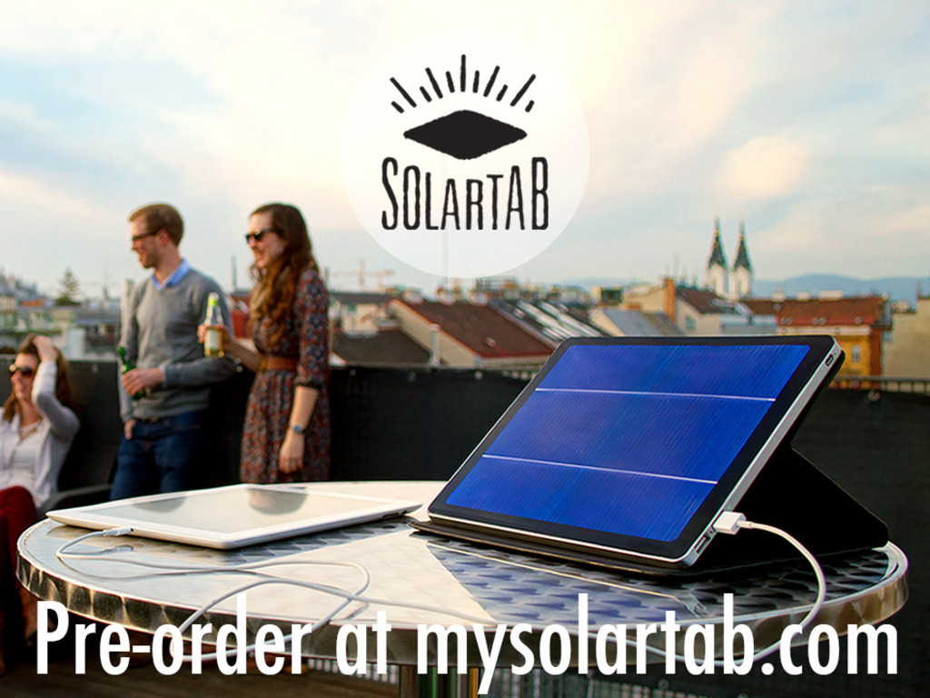 Solartab - The Premium Solar Charger's video poster