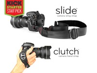 Slide and Clutch: Versatile Camera Sling and Hand Strap