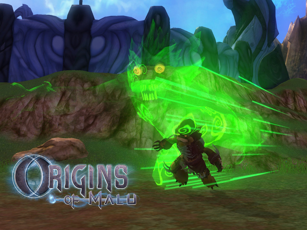 Origins of Malu: MMO  Open World Housing/Dynamic PVP Sandbox's video poster