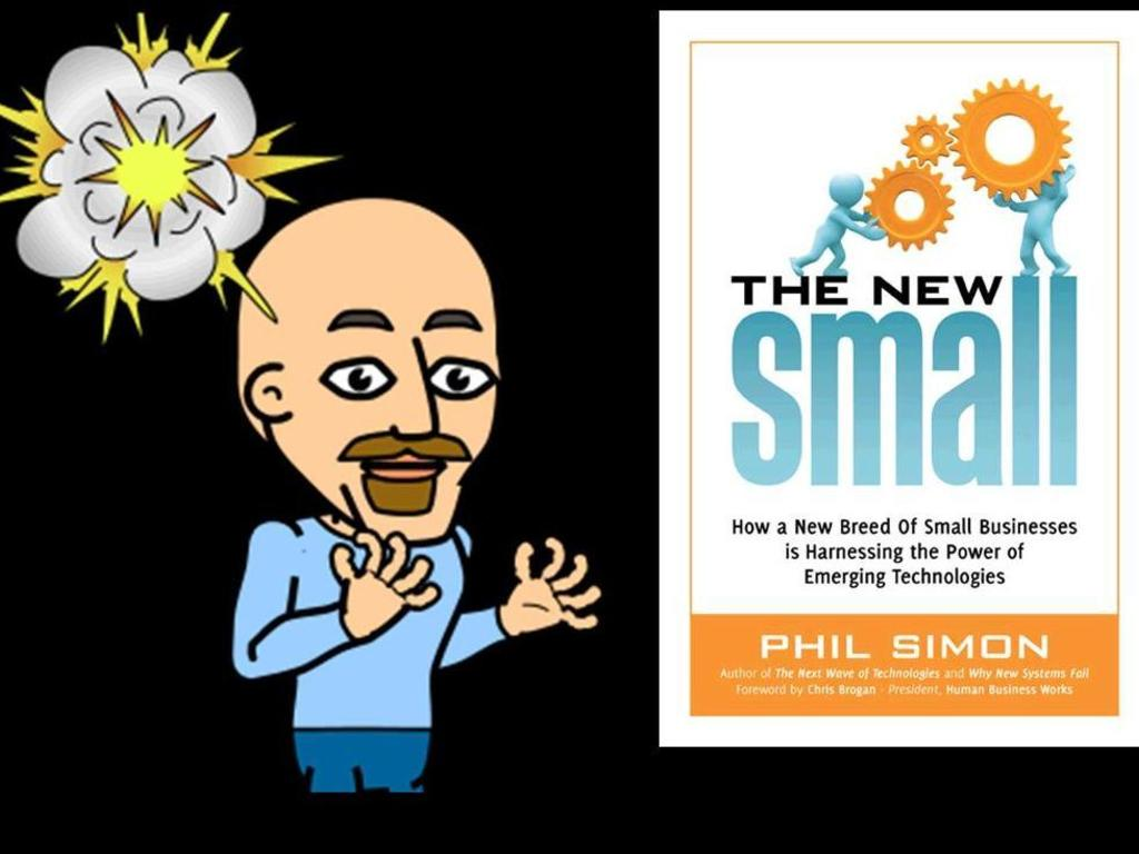 The New Small: My Third Book's video poster