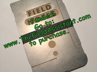 The Field Assistant: Titanium memo notebook cover and more!