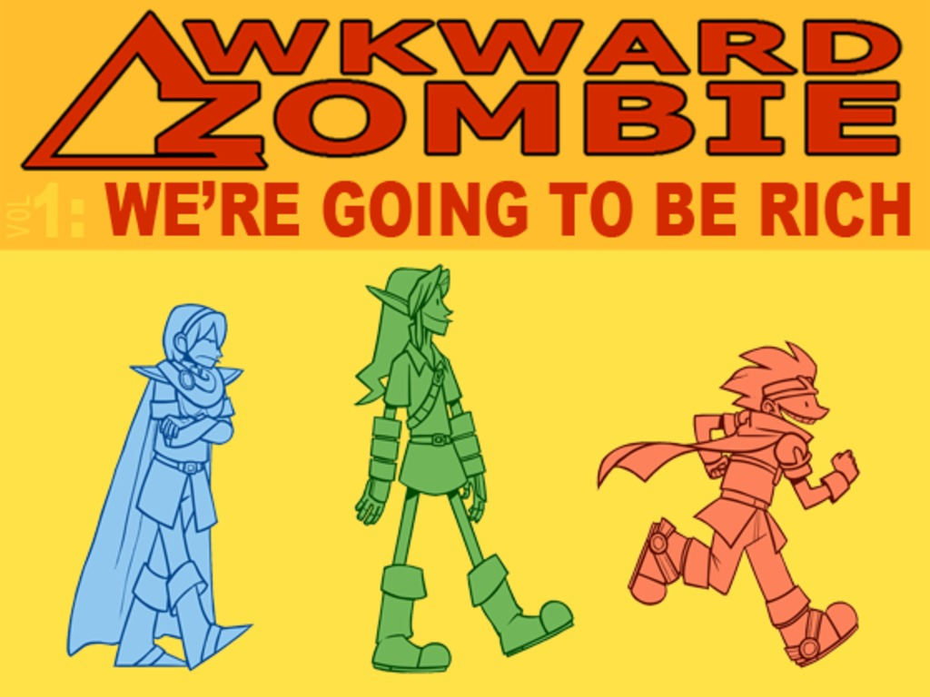 Awkward Zombie: Volume One's video poster