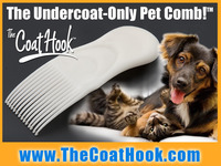 The CoatHook — the Undercoat-Only Pet Comb