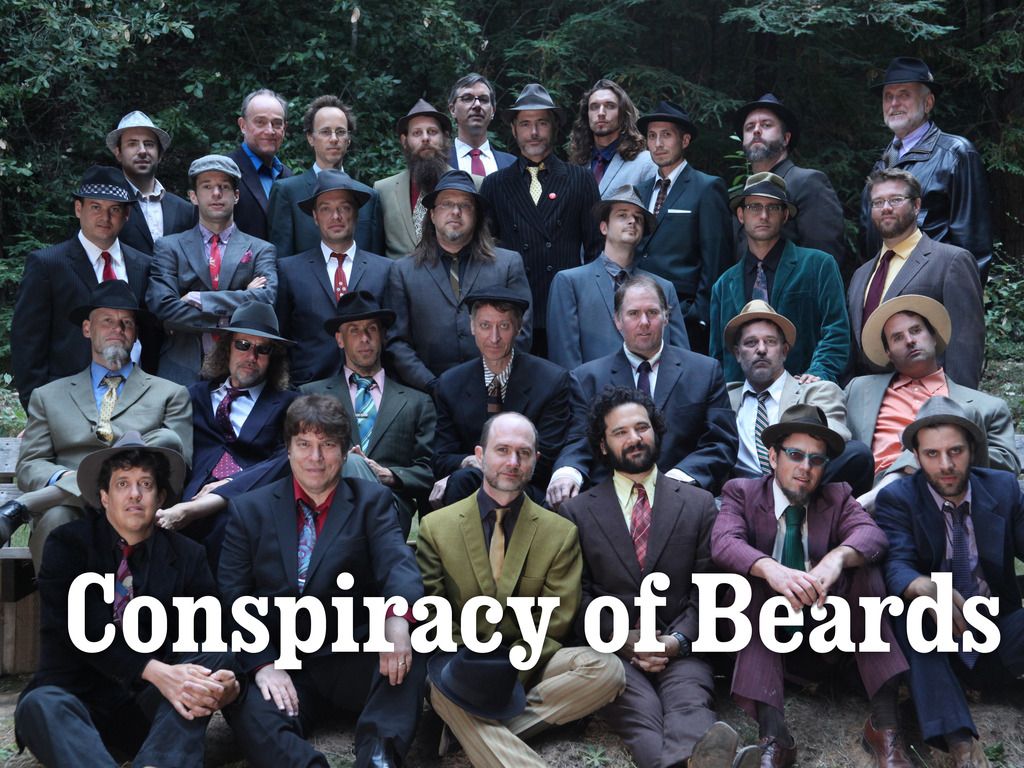 Conspiracy of Beards's video poster