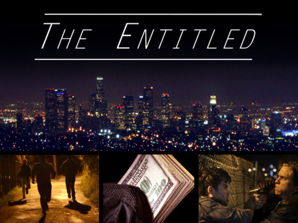 The Entitled - a comedy/thriller feature film!'s video poster