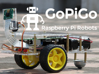 GoPiGo:  The Delightful Raspberry Pi Robot