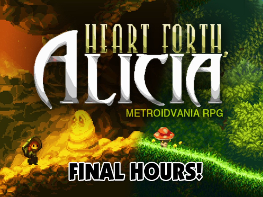 Heart Forth, Alicia's video poster