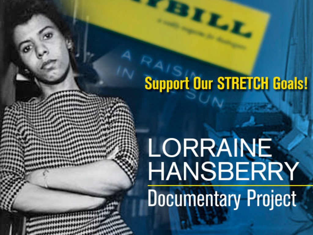 Lorraine Hansberry Documentary Project - the documentary's video poster