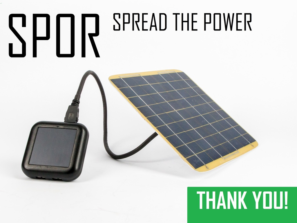 SPOR: Solar Battery Chargers, USB Cables & Accessories's video poster