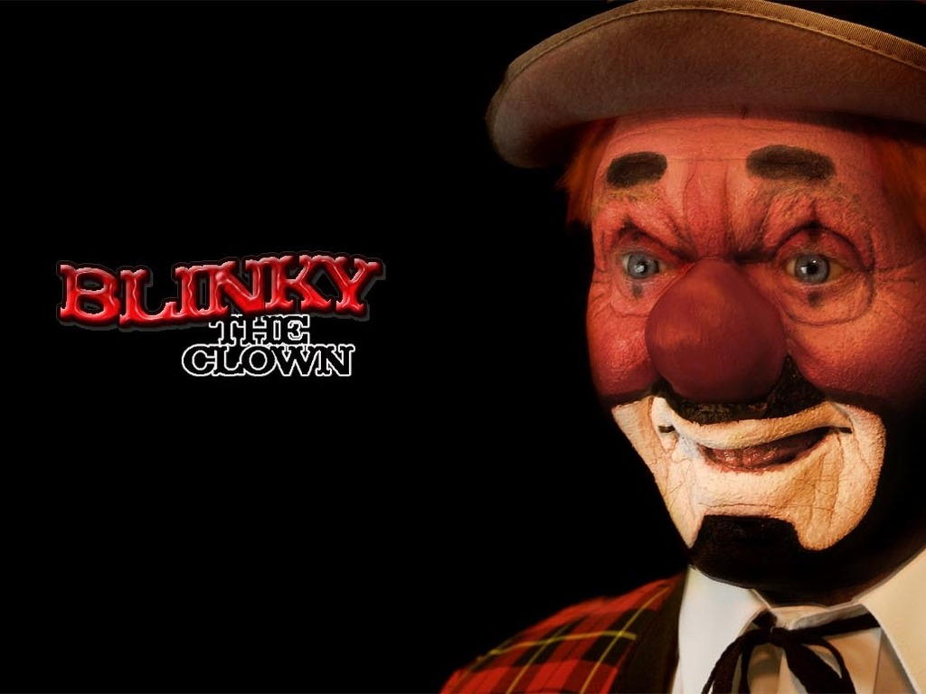 Blinky the Clown wax figure's video poster