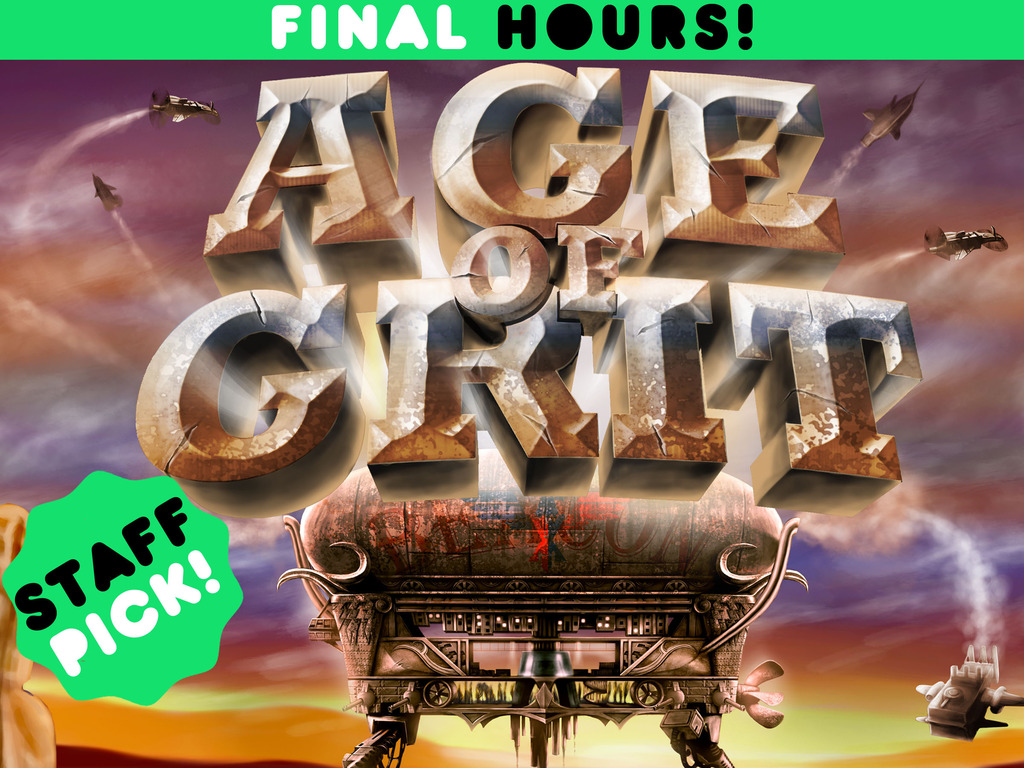Age of Grit - A Cowboy Steampunk RPG's video poster