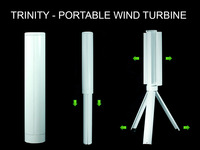 Trinity - The Portable Wind Turbine Power Station