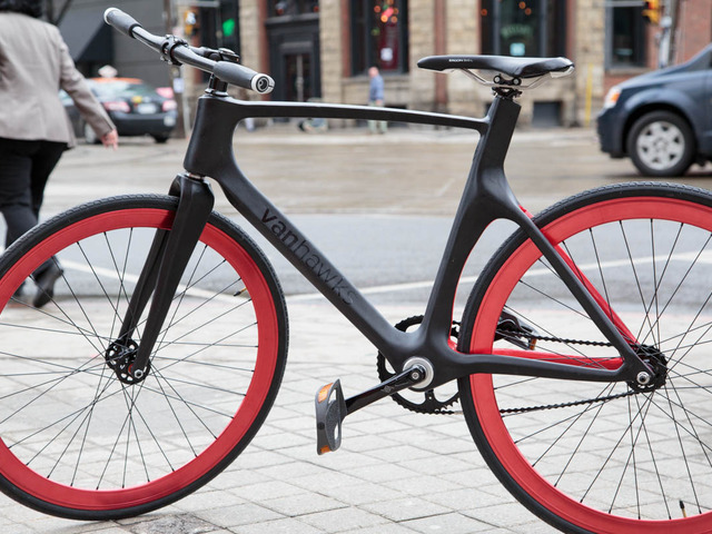 Vanhawks valour first ever connected carbon fibre for Colorado motorized bicycle laws