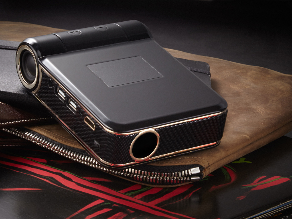 ODIN: Android 'Smart' Projector to Carry in Your Pocket's video poster