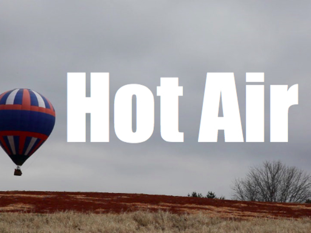 HOT AIR the movie's video poster