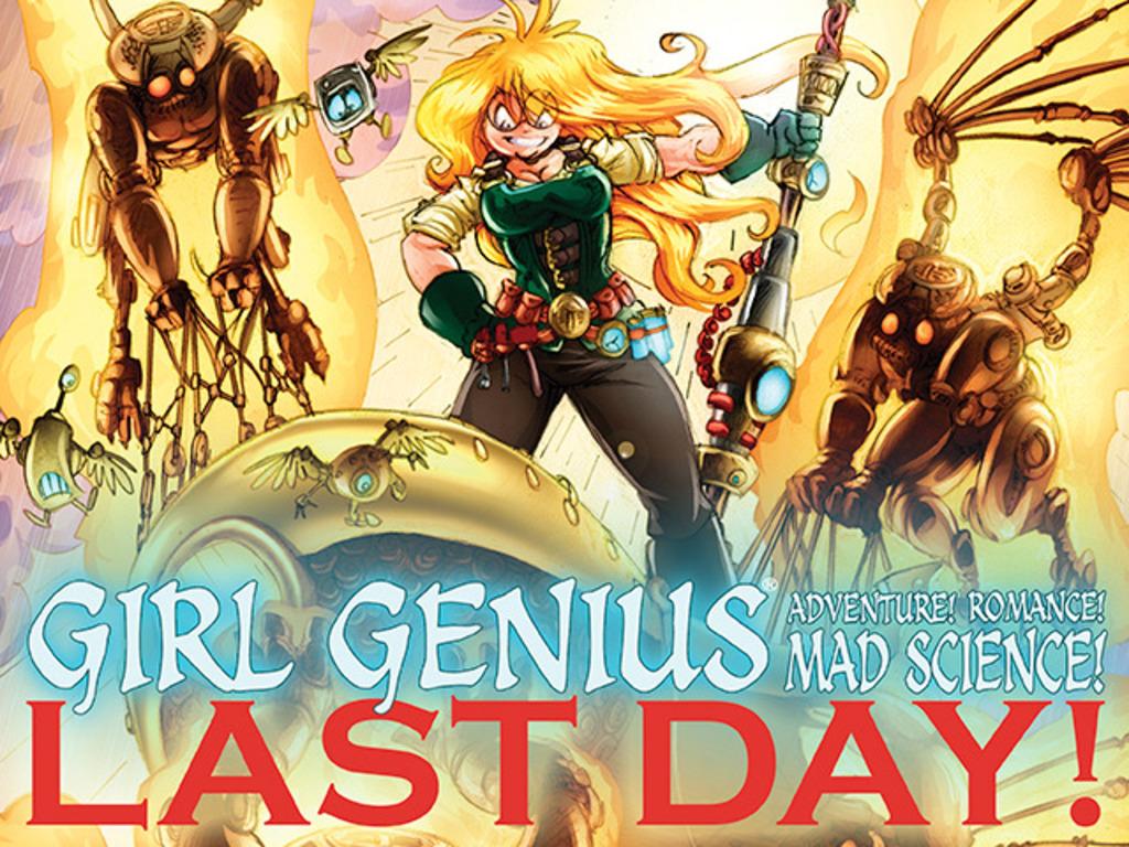 Girl Genius Volume 13: Agatha Heterodyne & The Sleeping City's video poster