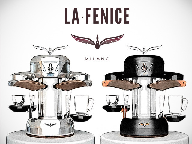 First Espresso Coffe Maker ~ La fenice world s first induction coffee machine by