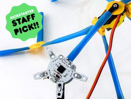 必要なのは想像力と……ストロー? シュールでおもしろいロボットDIYキット「Qurikbot」 7番目の画像