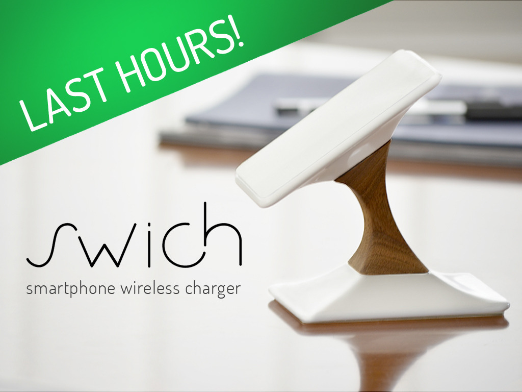 Swich - Wireless charger for iPhone & Android's video poster