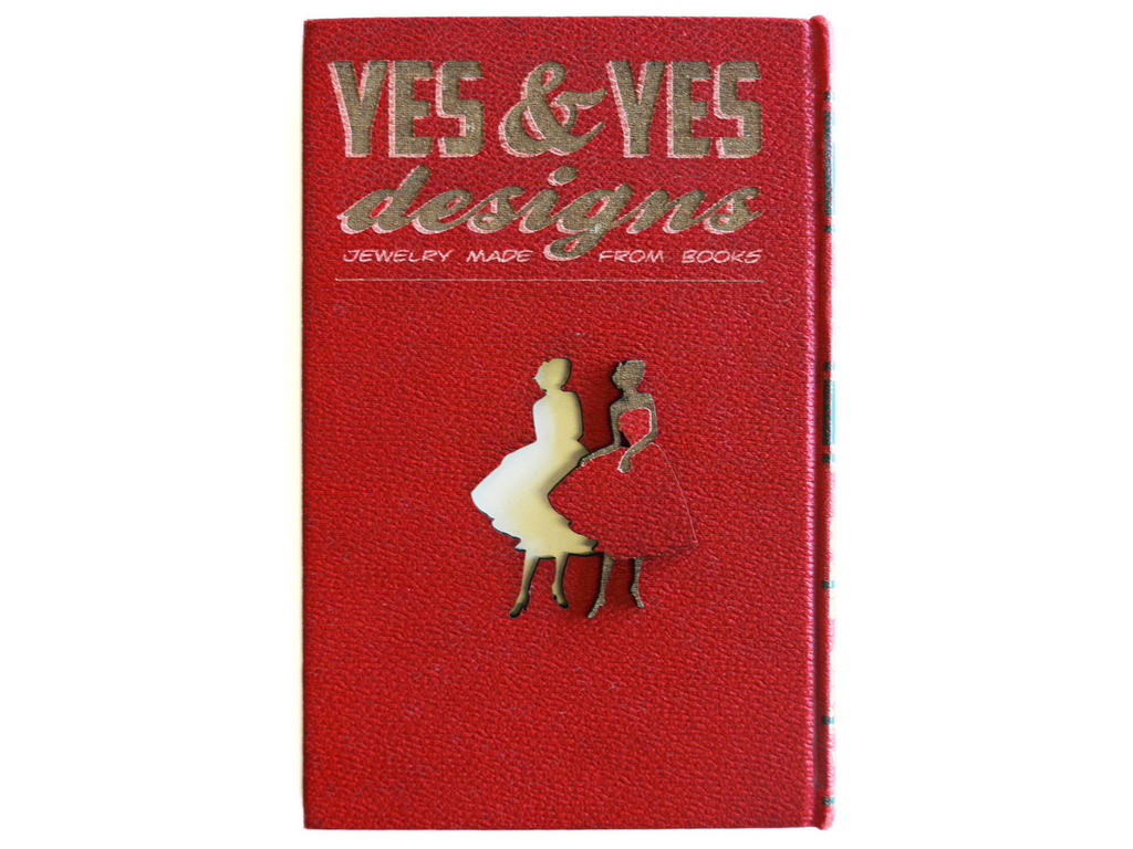 YES & YES DESIGNS- Jewelry made from books!'s video poster