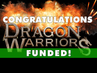 DRAGON WARRIORS:   a feature film starring James Marsters