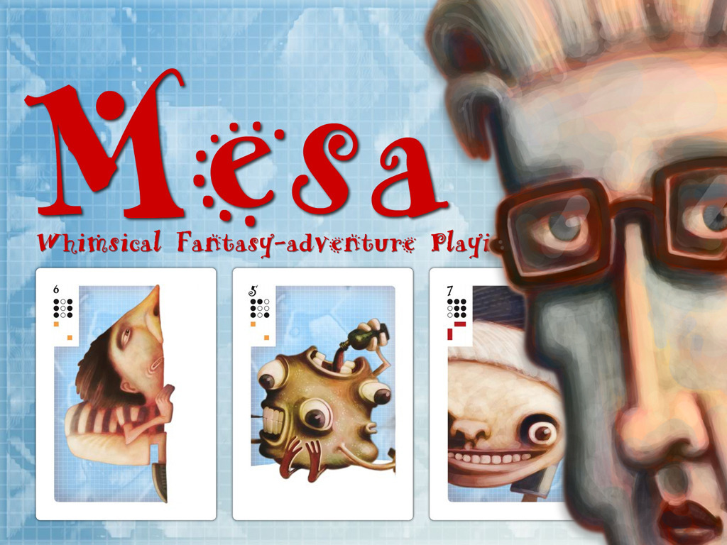 Mesa, Whimsical Character Card Deck System (Canceled)'s video poster
