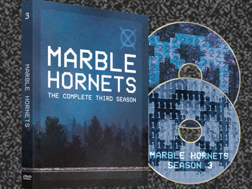 Marble Hornets Season 3 DVD's video poster