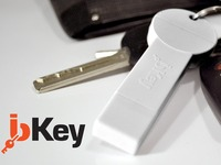 bKey: the most compact, wireless smartphone battery