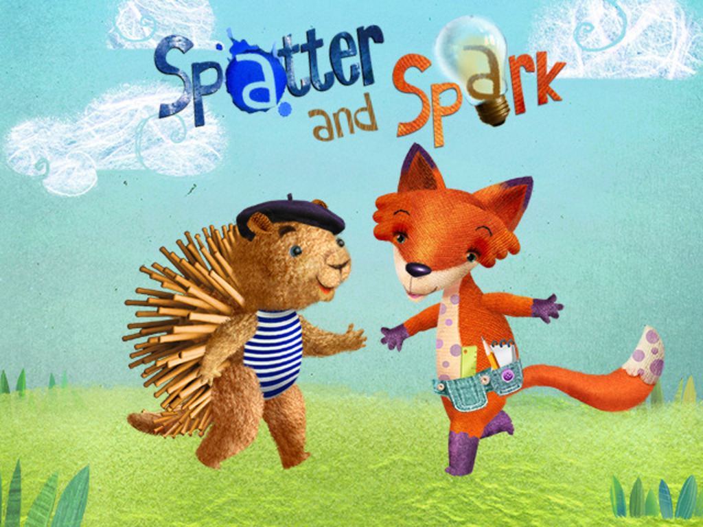 Spatter & Spark: Interactive Story & Activities App for Kids's video poster