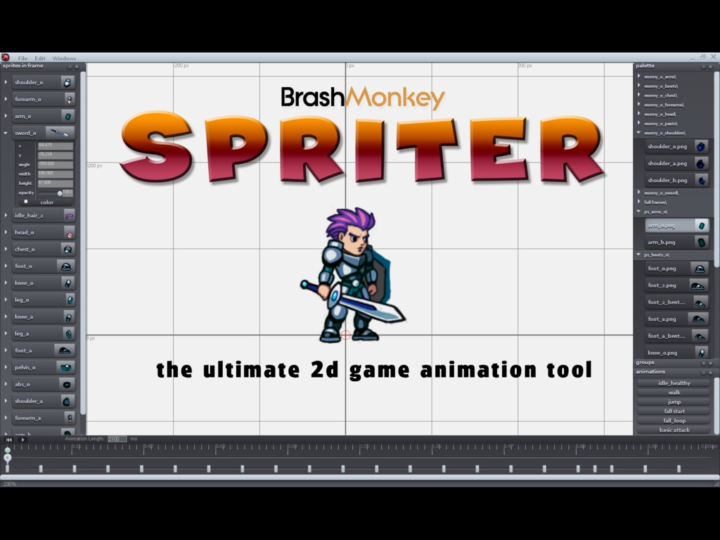 Spriter's video poster