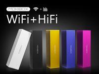 MOKIBOX: Portable Aluminum WIFI Speaker with Premium Sound