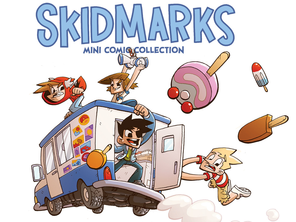 Skidmarks: A Mini Comic Collection's video poster