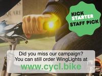WingLights - Versatile Indicators for Bicycles.